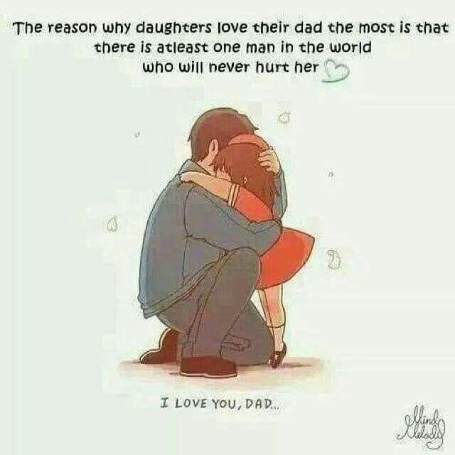 It's true. And it's why I miss my Dad so very much.                                                                                                                                                                                  More