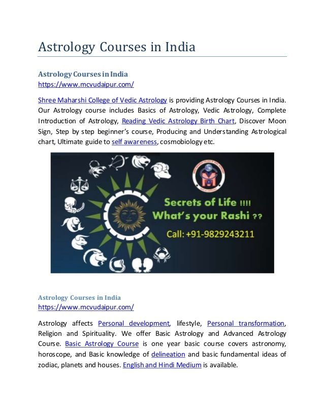 Pin by Shree Maharshi College on Astrology Courses in India