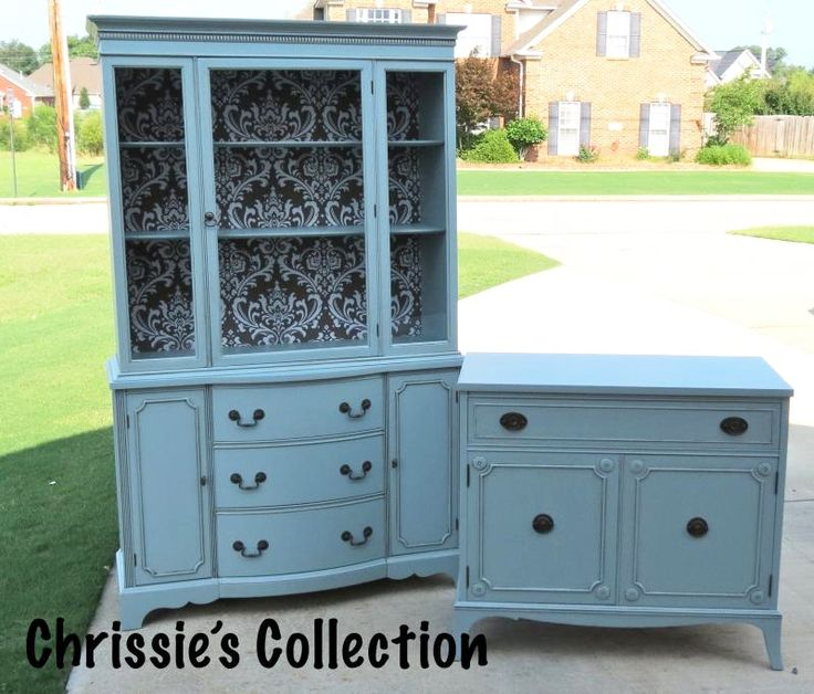 Buffet Hutch Persian And Milk Paint On Pinterest