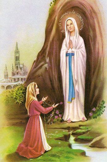 Nossa Senhora de Lourdes. Conheça a história, milagres, oração, devoção e medalhas de Nossa Senhora de Lourdes.