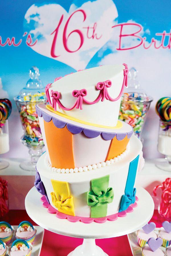 740 best sweet 16s birthday cakes teens images on Pinterest