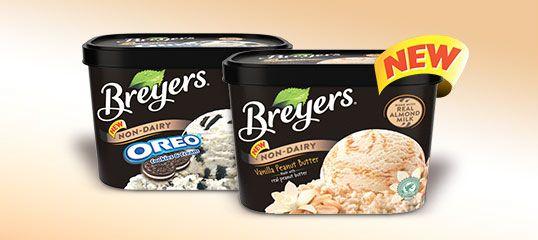Breyers Non-Dairy Dessert Flavors