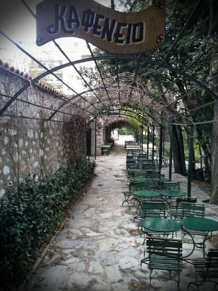 #Athens, #Greece Cafe@National Garden Zappeion Park