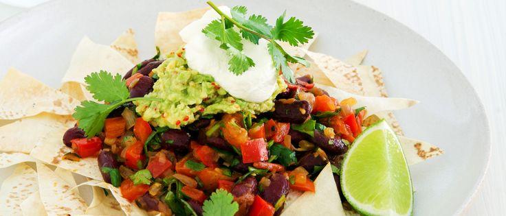 Free 12WBT Recipe: Bean Nachos with Chilli Guacamole