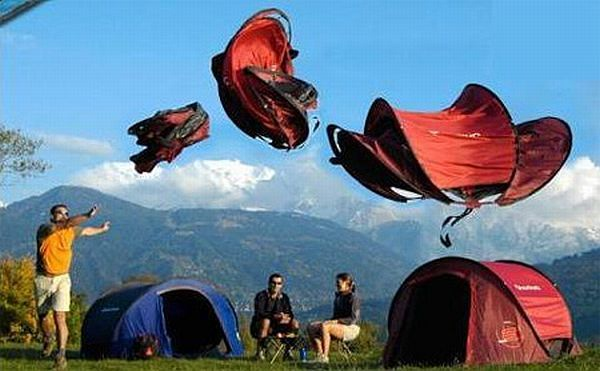 Unusual Camping Tents