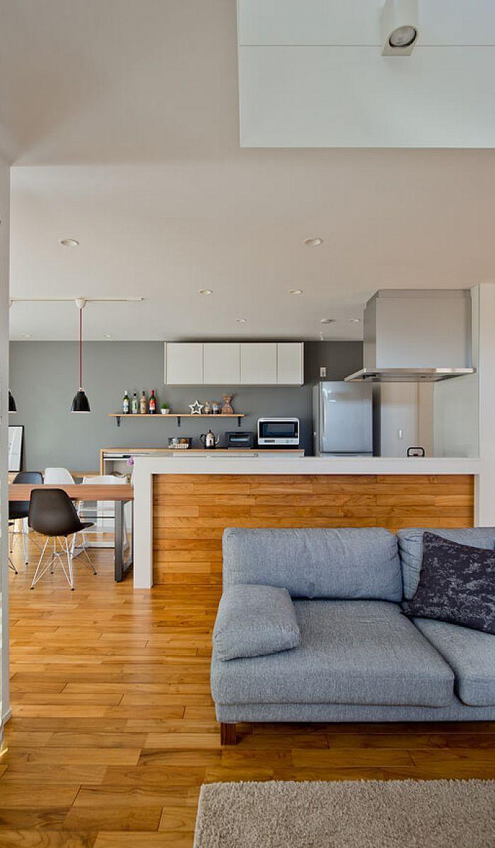 表情豊かなタイル貼りの外観に、高天井リビングが心地良い住まい|施工実績|愛知・名古屋の注文住宅はクラシスホーム