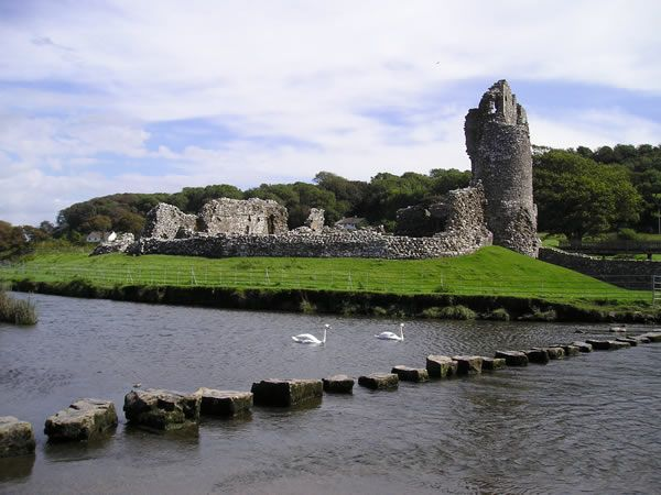The Stepping Stones by Ogmore Castle, good times :)