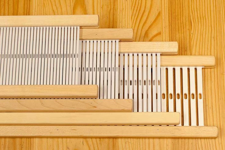 """For use with the Schacht Cricket and Schacht Flip Rigid Heddle Looms. Reeds are priced by weaving width. Please select the size you wish to purchase for pricing. 10"""" & 15"""" wide reeds fit the Cricket L"""