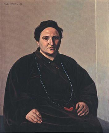 Portrait of Gertrude Stein (1907) by Félix Vallotton (poulwebb)