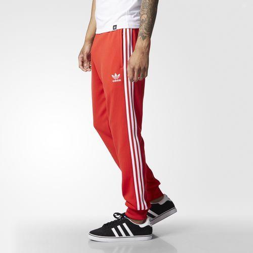 adidas - Pantaloni da allenamento Superstar Cuffed
