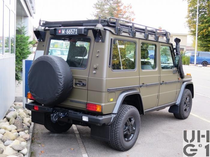 Mercedes Benz G 300 CDI Lieferw 0.9t 4Pl 4x4 gl - Leichte Geländewagen - Radfahrzeuge | militärfahrzeuge.ch