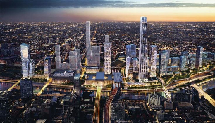 30th Street Station Development Plans Announced - Property