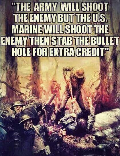 My Marine is a badass!                                                                                                                                                                                 More