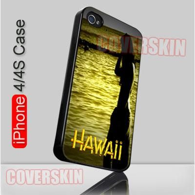 Waikiki Oahu Hawaii iPhone 4 or 4S Case Cover