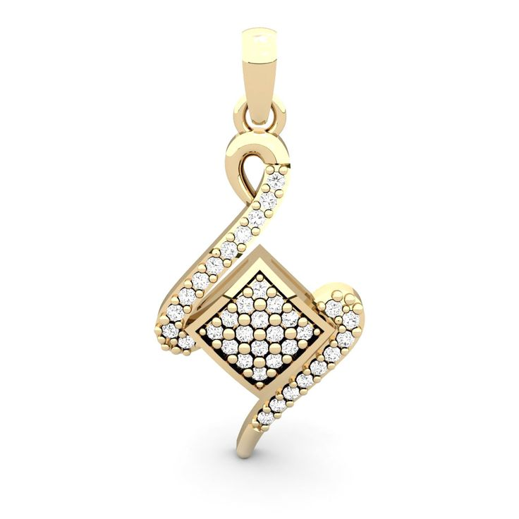 An absolute absolute must have diamond pendant. It can't get better when it comes to casual diamond pendants. It's an eye-catcher and who knows may be hearts-catcher too.