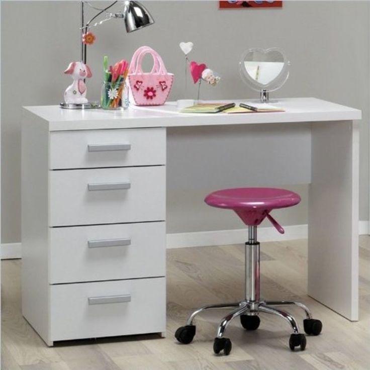 Tvilum 8012049 - Whitman Plus Writing Desk in White Finish NEW #Tvilum