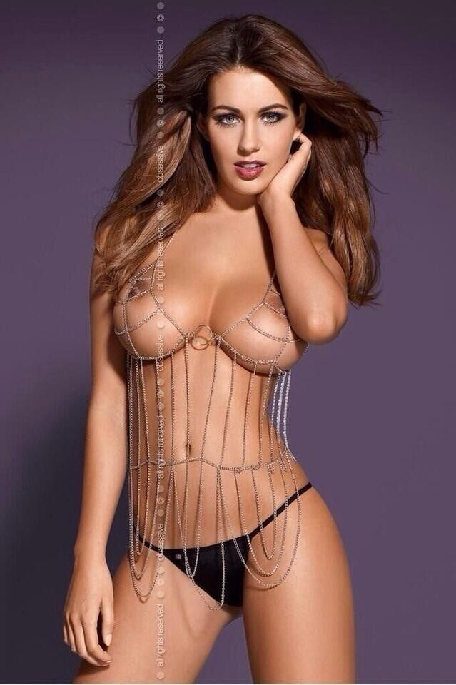 "tungstenbell10: ""Holly Peers, for lingerie line Obsessive """
