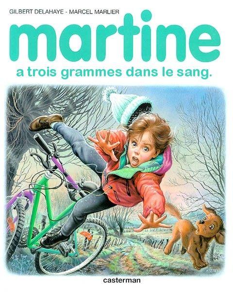 Martine-a-trois-grammes-dans-le-sang-parodie-livre