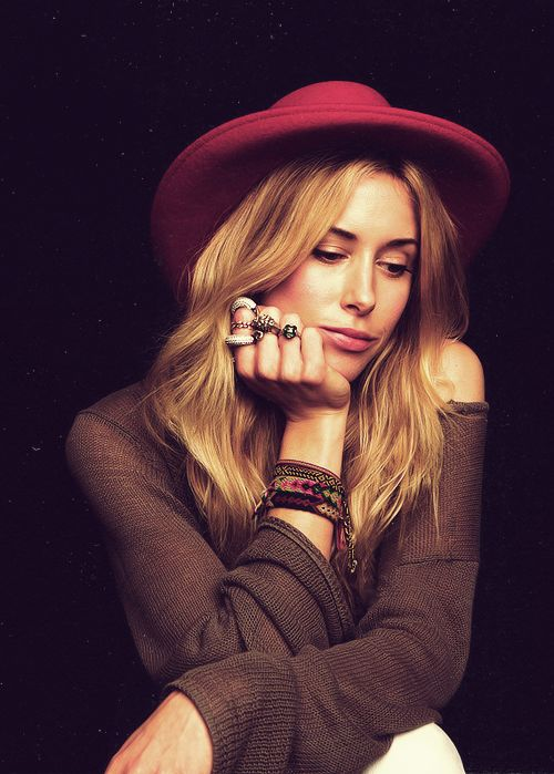 Gillian Zinser. She's too cool.