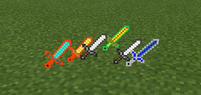 Better Swords Mod for Minecraft PE 0.10.5 - http://minecraftpedownload.com/better-swords-mod/