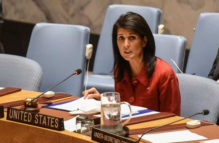 The U.S. Ambassador to the United Nations Nikki Haley on Sunday declared that the administration does not see peace and stability in Syria.