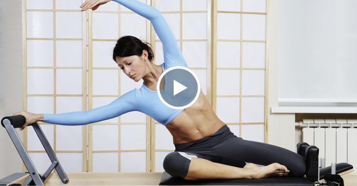 СОКРУШАЮЩИЙ эффект пилатеса при похудении. Тренировка для начинающих.