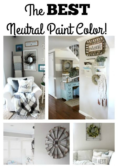 The Glam Farmhouse The Best Neutral Paint Color The