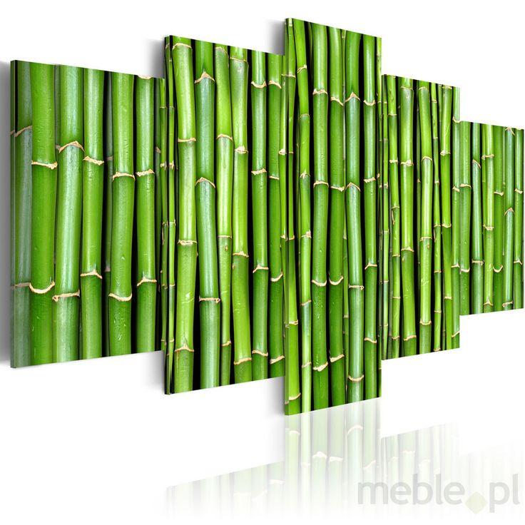 Obraz - Bambus - harmonia i prostota, Artgeist - Wyposażenie wnętrz
