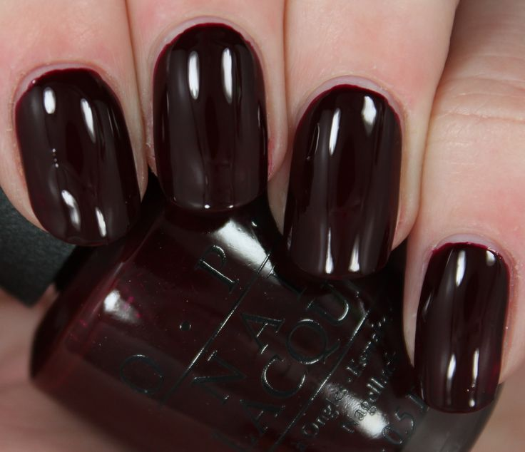 Opi Dark Red Nail Polish - Google Search