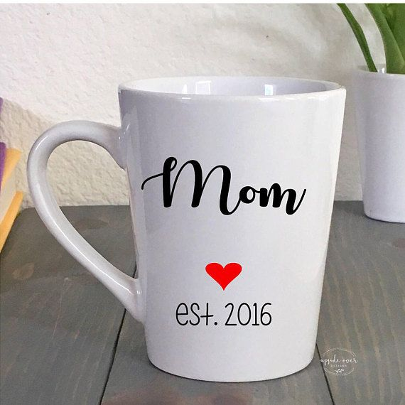 Mothers Day Gift - Coffee Mug for New Mom - First Mother's Day - Gifts for Her - Gift for Wife - Bab