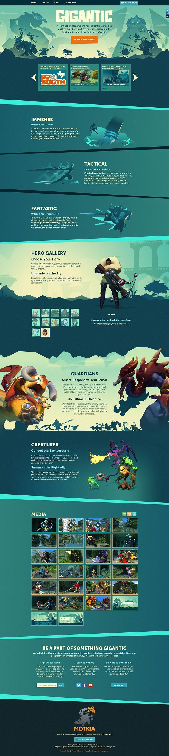 Gigantic by Motiga.