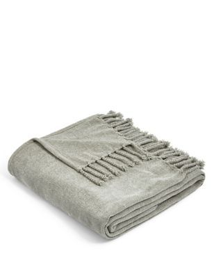 A cosy throw not only looks fabulous but is a great extra layer for cold nights.