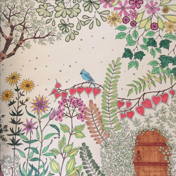 Johanna Basford Secret Garden Coloring