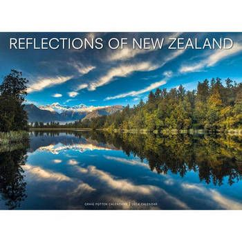 New Zealand Reflections of New Zealand Calendar 2014