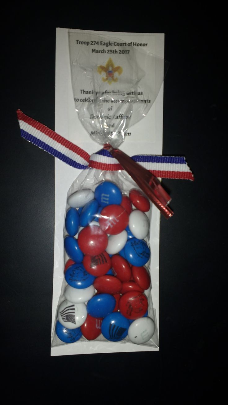 Eagle Court of Honor party favor