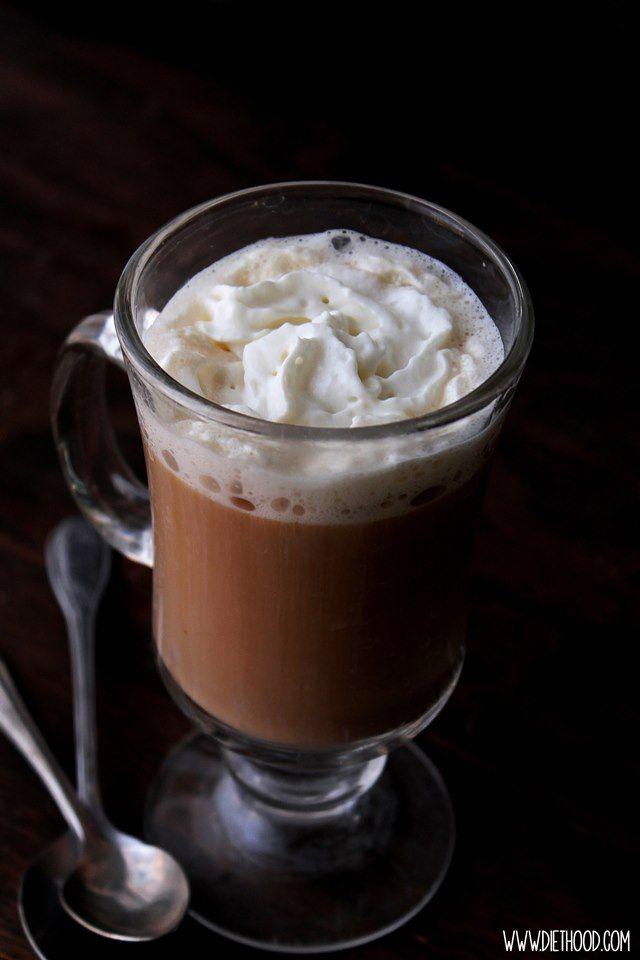 YUMMY! Authentic Irish Coffee! Delicious and warm Authentic Irish Coffee made with whiskey, coffee, and heavy cream. #Delicious #Warm #Authentic #Irish #Coffee #Recipe #IrishCoffee