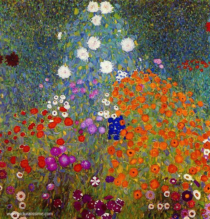 Gustav Klimt Jardin en fleur ✏✏✏✏✏✏✏✏✏✏✏✏✏✏✏✏ ARTS ET PEINTURES - ARTS AND PAINTINGS ☞ https://fr.pinterest.com/JeanfbJf/pin-peintres-painters-index/ ══════════════════════ Gᴀʙʏ﹣Fᴇ́ᴇʀɪᴇ ﹕☞ http://www.alittlemarket.com/boutique/gaby_feerie-132444.html ✏✏✏✏✏✏✏✏✏✏✏✏✏✏✏✏