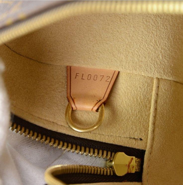 Date code in Louis Vuitton monogram Cite GM.