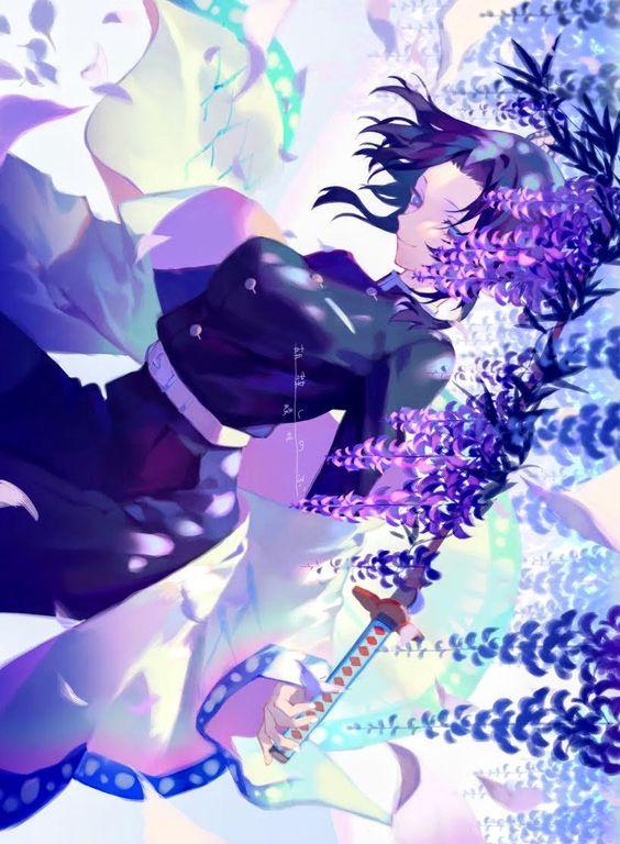 Shinobu Kochou From Kimetsu No Yaiba Anime Shinobukochou