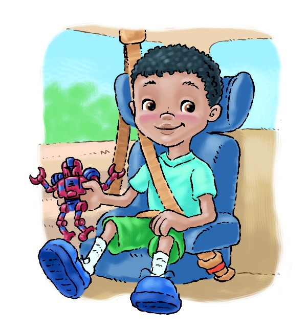 when can our child switch from a booster seat to using just a safety belt
