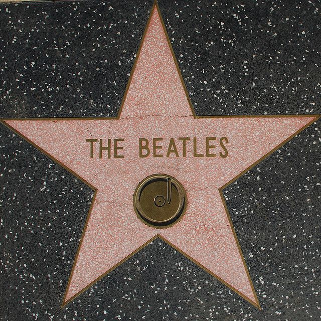 The Beatles - Walk of Fame Star - Los Angeles Historic-Cultural Monument No. 194, the Hollywood Walk of Fame.: