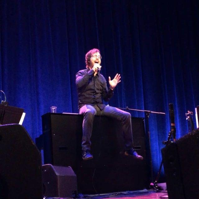 Ben Folds performed on Sunday at Ryman Auditorium