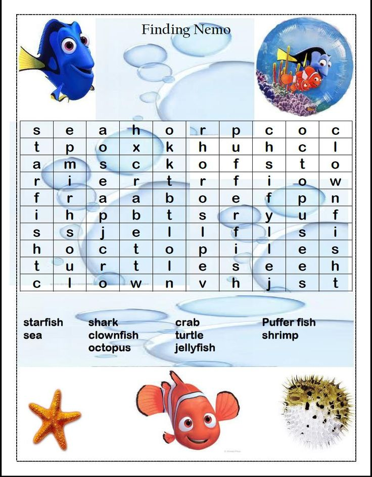 213 Best Finding Nemo Printables Images On Pinterest