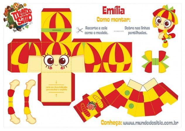 Personagens sítio do pica-pau-amarelo