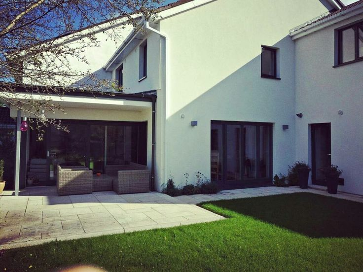 High end Aluclad windows and doors installed in this beautiful project in Clonskeagh