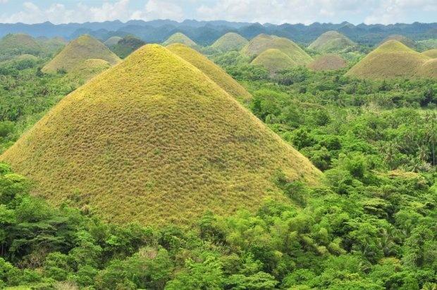 Wzgórza Czekoladowe, Filipiny.