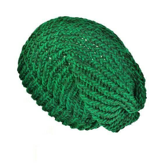 4022cef772d Green knit hat