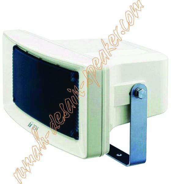 TOA Wide Horn Speaker ZS-254 (25 Watt) Speaker yang dinamis mengeluarkan kualitas suara yang jelas, terdapat rotary switch untuk memudahkan merubah impedansi. Penggunaan diluar ruangan (outdoor), pemasangan cocok pada lorong/selasar, parkiran dlln.  Spec: Rated Input Selection / Impedance 25W, 20W, 10W ( 100V Line ) Sensitivity 98 dB (1 W) Frequency Response 120 ~150.000Hz Speaker Component 12 cm cone-type Horizontal Directivity Constant directivity horn 90 (45 horizontal from front axis)…