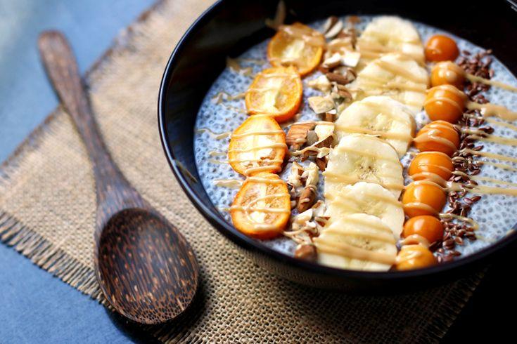 Overnight chia porridge