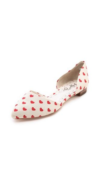 <3 Heart A&O flats. #Valentines